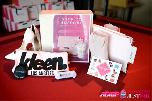 ADMP Events NFL Alumni Annual Breast Cancer Awareness Event Sponsors ShoeDazzle, JustFab, Kleen L.A.
