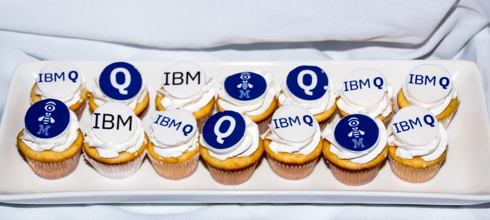 Custom made Cupcakes for IBM Q